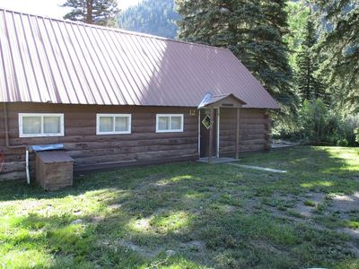 Photo for Rustic Cabin nestled on the banks of the South Fork River