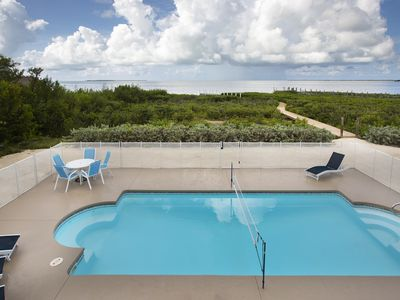 Photo for Direct Ocean View! 5 Bed/3 Bath with room for everyone. Large pool and Dock!