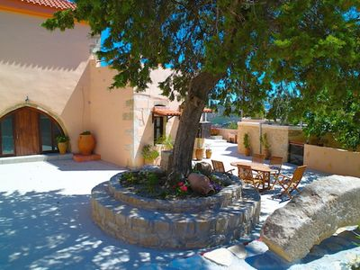 Photo for Kastellion Villa - Traditional Stone Villa with Private Pool and AC, near to beautiful Beaches! - Free WiFi