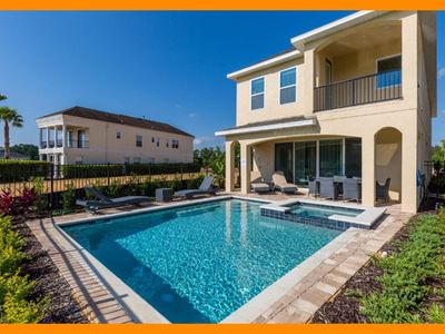 Photo for Reunion Resort 33 - Exclusive villa with private pool & game room near Disney