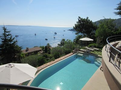 Photo for Superbe villa for rent near beaches of Théoule