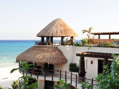 Photo for Winner of Top 25 in All Of Mexico- Oceanfront - DIRECT VIEW PH - 3/3 Beach Club #6