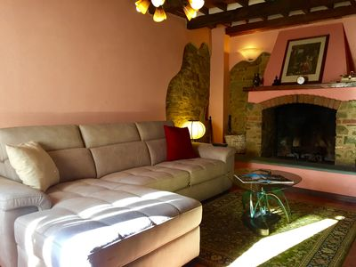 Photo for The holiday home in the Tuscan countryside is located in the ancient village of the village