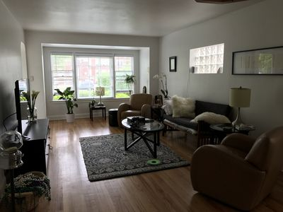Photo for Beautiful 2 bedroom home on shady tree lined boulevard