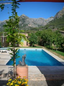 Photo for Luxury Cottage,Pool, Views,Orchard,Walk to Town,Satelite,WiFi Air/Con