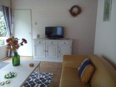 Photo for Holiday Bungalow at North Sea beach. Incl. bicycles