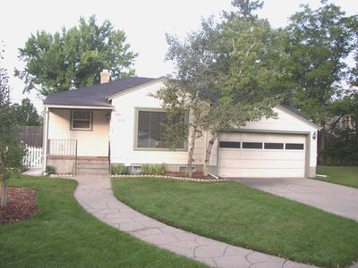 Photo for Charming home close to downtown and Wash Park. Very quiet street on private park