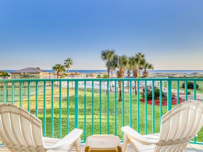 Photo for NEW! Waterfront condo w/shared pool & hot tub-near beach at Plantation Palms