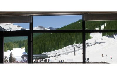 Photo for Luxury Ski In/Ski Out Condo Sleeps 7 W/ Slopeside View & Wood-Burning Fireplace