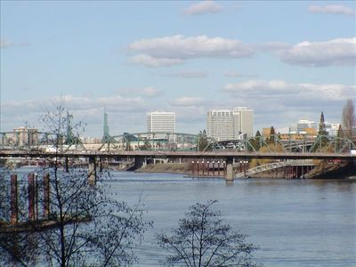 Photo for River Front Portland Oregon Condo $9000 a mo. Less than hotels!
