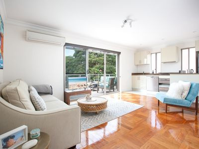 Photo for Sunlit Bondi Beach Apartment With Balcony, Parking