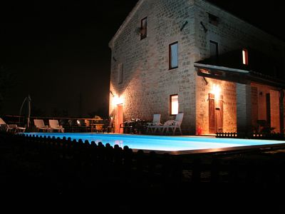 Photo for Traditional Italian Stone Farmhouse with Pool and Exceptional Views