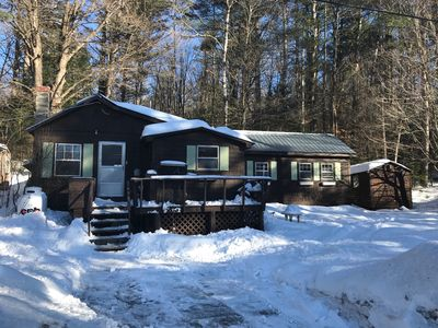 Photo for Cozy Newly Remolded  Winter Cottage near skiing and snow machine trails