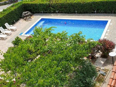 Photo for Lovely apartment for 25 people with A/C, WIFI, private pool, TV and parking