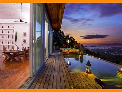 Photo for Choeng Mon 1115 - Fantastic views with Thai chef service
