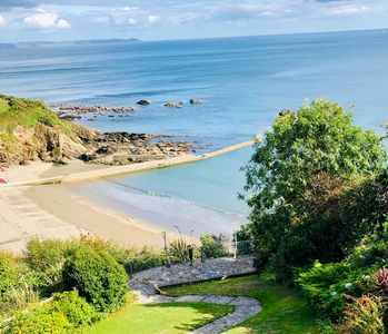 Photo for Looe. Stunning  sea views over Millendreath beach from our beautiful  apartment