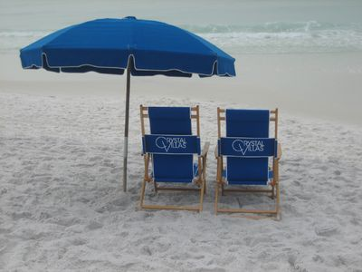 Complimentary Beach Service: March 1 - October 31