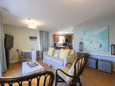 Photo for Pleasant first floor condo w/ shared pool access, free WiFi and cable!