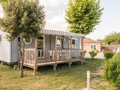 Photo for Camping Le Sous-Bois *** - Mobil-home Grand Confort TV 3 rooms 4/6 persons