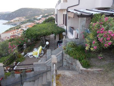 Photo for house with fantastic view facing the sea beach 5 minutes walk IUN: P5198