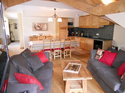 Photo for 4 rooms duplex 8 people 3* facing South-West