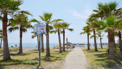 Photo for Duplex in the best residential area of ​​Torrox Costa, next to the sea and the Paseo