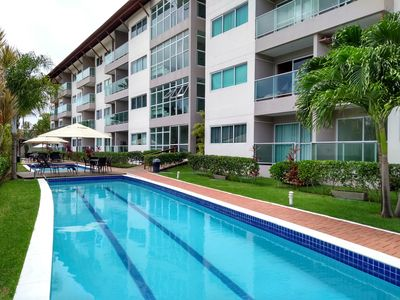 Photo for FLAT FULL IN PORTO DE GALINHAS, 2 BEDROOMS, ALL AIR CONDITIONING 150 M FROM THE BEACH