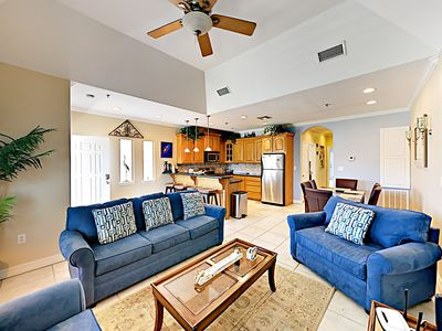 Photo for 2BR, 2BA South Padre Condo 3 Mins. From the Beach – On-Site Pool