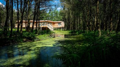 Photo for Unique Luxury Treehouses, Private Sauna & Hot Tub, North York Moors National Pa