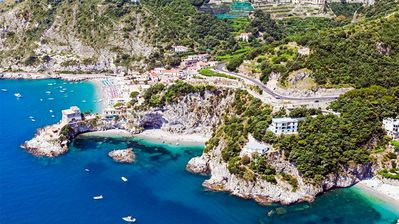 Erchie beaches - Aerial view