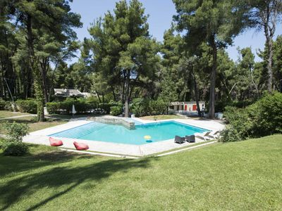 Photo for Villa Irini in Sani with garden and pool