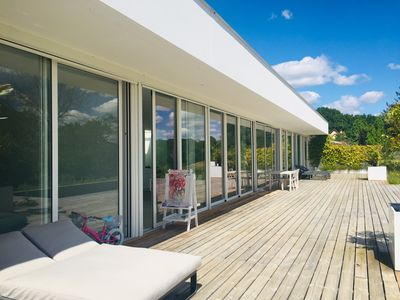 Photo for Luxurious and recent contemporary house Pyrenees - BIARRITZ