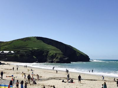 Photo for Cornish cottage 100m to the beach. (Portreath north coast near st ives)