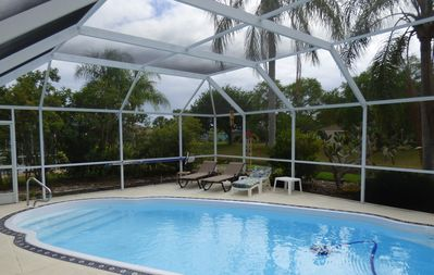 Photo for Super Clean Private Entrance, 2 Bedrooms and Bath with Heated Pool.