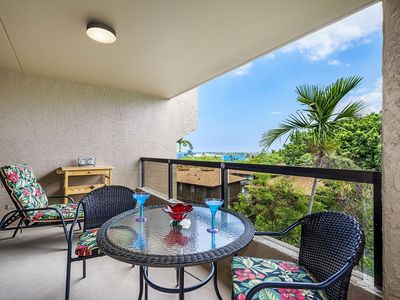 Photo for KONA PACIFIC B411 -- OCEAN & MOUNTAIN VIEWS! IN TOWN LOCATION!