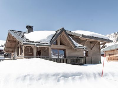 Photo for Luxury chalet in the ski slopes