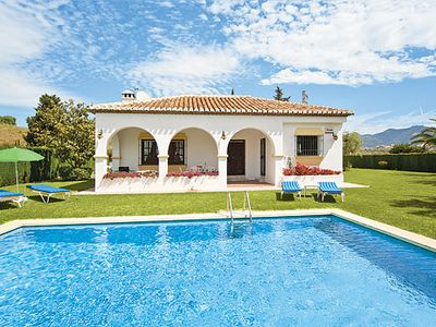 Photo for An ideal villa for golfing families w/ modern facilities, pool and terrace