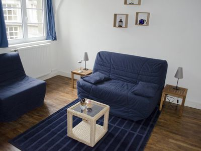 Photo for Modern Studio Flat for 2 to 3 Persons in Saint-Malo