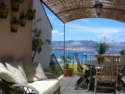 Photo for House with panoramic view over the harbour and Toulon bay