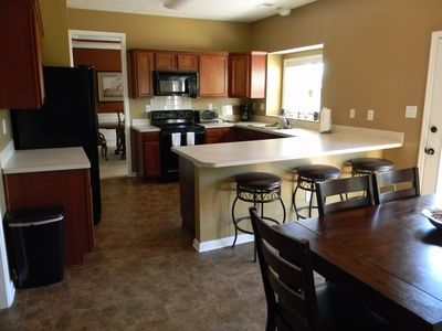 Photo for Spacious, Family-Friendly Executive Home. Long term renters welcome!