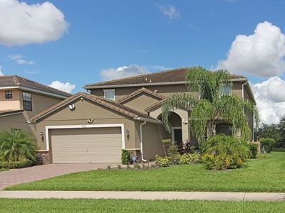 Photo for Luxurious 6 bedroom 4.5 bath Private pool & spa home with game room
