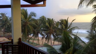 Photo for Small private house situated right on the beach
