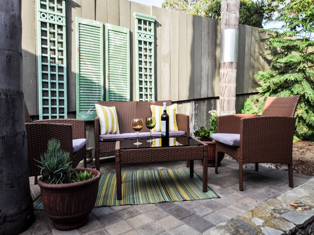 Enjoy Our Fabulous Weather On Your Private Patio
