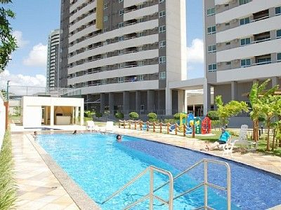Photo for Apartment 8th floor -2quartos, 2banheiros (1 su), cplte. furnished w / internet & tvcabo