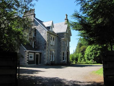 Photo for Grand Victorian Shooting Lodge, Highland estate - Fishing/Stalking/shooting