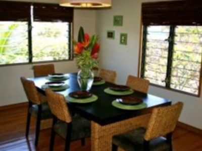 Tropical Dining Room Upstairs