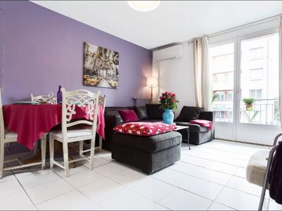 Photo for ❤️BIENVENUE in TOULOUSE T3 furnished near center 2 to 6 people Parking, lift