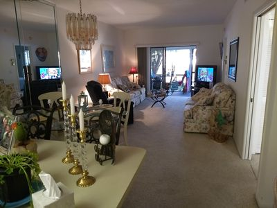 View of condo from kitchen