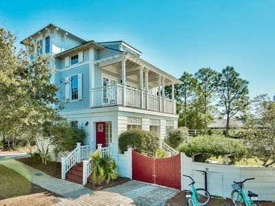 Photo for Cozy and Fun cottage in Rosemary Beach/newly renovated/bikes included