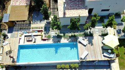 Photo for BACK COUNTRY OF SAINT FLORENT. SWIMMING POOL AND SPA